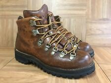 Vintage🔥 Danner 3052 Brown Leather Hiking Boots Made in USA Size 7 Men's Shoes