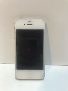 Parts Only Apple iPhone 4s - 16GB - White (Unlocked) A1387 (CDMA   GSM)