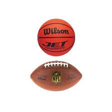 NUOVA MINI WILSON Palle americano x 2, NFL CALCIO, BASKET NCAA Mini Ufficiale