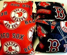 Boston Red Sox Red Blue Cornhole Bags Set of 8, Top Quality Free shipping