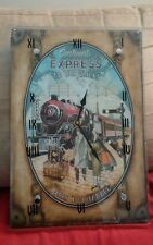 Continent Express To the Orient Wall Clock ....PARIS to ISTANBUL, works great