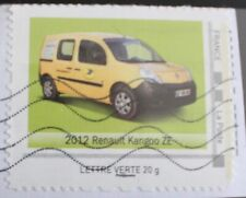 TIMBRE COLLECTOR OBLITERE - 2012 RENAULT KANGOO ZE