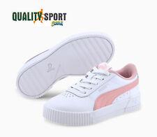 Puma Carina L Bianco Rosa Scarpe Shoes Bambina Sportive Sneakers 370678 13 2020