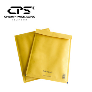 CPS Genuine Featherpost Gold Bubble Padded Envelopes - Multi Size - 100 Pieces