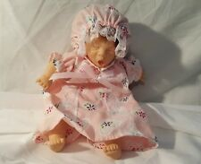 """8"""" GI-Go My Palm Pals Bean Bag Kids Expression Doll Collectible Girl in Pajamas"""
