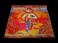 Grateful Dead Dave's Picks 25 Volume Twenty Five Binghamton N.Y. 11/6/1977 3 CD