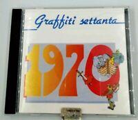 Graffiti Settanta 1970 CD Album musicale Musica Italiana Morandi Carrà Battisti
