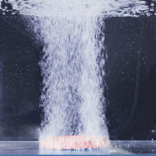 Round Disk Air Bubble Stone Aquarium Hydroponic Fish Oxygen Diffuser Aerator