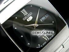 SEIKO 5 DRESS LADIES AUTOMATIC WATCH SNY011J1 BLACK DIAL JAPAN MADE SNY011