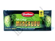 Noni Fruit Tea 20 Teabags 100% Herbal Morinda Citrifolia Mengkudu