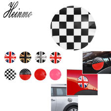 Checkered Car Gas Lid Tank Door Cover Fuel Cap For Mini Cooper R55 R56 Hatchback