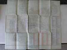 Reichsamt Landesaufnahme Übersichtsblatt Nr3~1939 Umgebungs- u. Sonderkarten