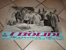 ED BEGLEY  JACK BRABHAM  I BOLIDI  FOTOBUSTA 1 EDIZ. 1961  AUTO CAR