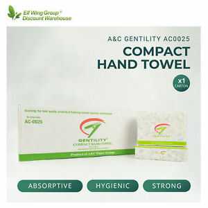 A&C Gentility Compact Hand Paper Towel FREE POSTAGE