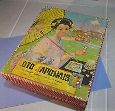 """Jeu """"loto japonais"""" loto années 50 , La Tour Saint Denis…"""