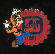 WDW 40 Years of Magic Starter Set Goofy Disney Pin 82206