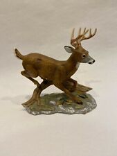 Home Interiors Whitetail Deer 1986 Homco Masterpiece Outdoor Man Cave Buck