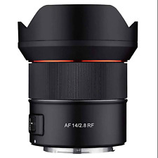 Samyang AF 14mm F2.8 for CANON RF Lens mirrorless camera.  NEW !