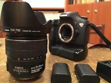 Canon EOS 7D Reflex 18Mpix + 15-85mm(1:3.5-5.6) +Poignée d'Alimentation Batterie