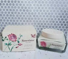 CRABTREE & EVELYN NEW ROSEWATER BODY Cream 7.1oz./200g  GLASS JAR 🚩DISCONTINUED