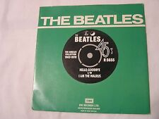 The Beatles 45 & Picture Sleeve from single collection-HELLO, GOODBYE/I AM THE W