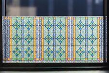 Fensterfolie Abbey bunt statische Folie Kirchenfenster Vintage Look Meterware