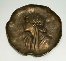 19th Century Art Nouveau Bronze Card or Pipe Tray, Buy it !!