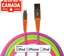 Apple Lightning Cable MFI Certified Colorful 3ft/1m for iPhone 11/Xs/Xr/X/ iPad