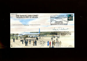 2004 RAF cover signed by Air Commandore M G Tomkins OBE