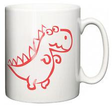 """Taza de dinosaurio gracioso """"soy una taza de té café cuteosaurus"""" cumpleaños regalo de Navidad"""
