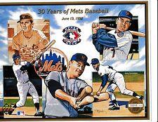 1992 UD NY Mets 30 Years Of  Mets Baseball Sheet June 13,1992 #20068/47,000