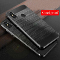 Shockproof Brushed Soft TPU Case Cover For Xiaomi Redmi Note 5 6 Pro Mi A2 Lite