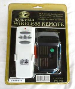 Hampton Bay Model:T2R1 191-691 Hand Held Wireless Fan Remote New Sealed