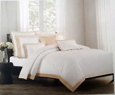 Hotel Collection Hillcrest Rose Gold Velvet Border 3 pcs KING Duvet Cover Shams