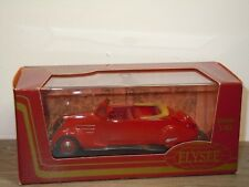 Peugeot 402 Eclypse 1936 - Elysee ELY 532 France 1:43 in Box *35328