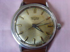 Vintage Swiss Vulcain 21J Mechanical Manual Used Watch