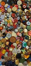 Mixed Lot Plastic Buttons **3 1/2 lbs**
