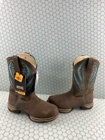 NWB ARIAT WORK Anthem VentTEK Brown Leather COMP Toe Pull On Boots Women's 9.5 B