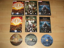 LOTR-The Battle for Middle Earth 1 + 2 II + Rise of Witch-King PC DVD bfme