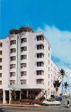 Atlantic Towers Hotel & Cabana Club Miami Beach Florida old cars 1960's Postcard
