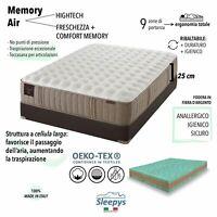 Materasso Memory Foam Matrimoniale.Memory Mattress And Polyurethane Double Brand New Model Ebay