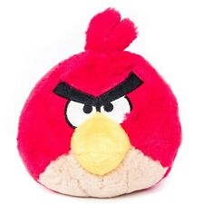 """Angry Birds Red Plush 4"""" Small 2010 Stuffed Animal Toy"""