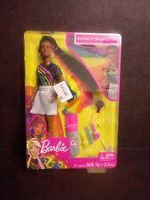 Barbie Rainbow Sparkle Hair + Accesories