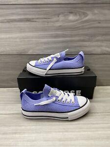 Converse Kids CT Shoreline Slip On Classic Sneakers Purple Size 11 Juniors Kids
