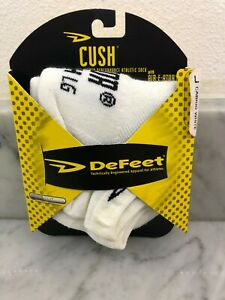 DeFEET Men's Cycling Socks L  Cabrio White    COOL MAX