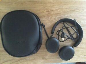 Jabra Evolve2 65 Stereo Wireless Headset (MS Teams, USB-A) - Black