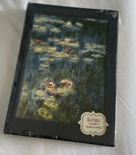 eccolo Water Lilies writing journal 5x7 made in italy Lined