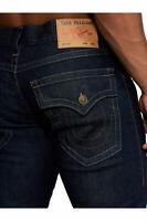 True Religion Men's Geno Slim Fit Stretch Jeans in Body Rinse