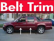 Chevy AVALANCHE CHROME SIDE BELT TRIM DOOR MOLDING 07 08 09 10 2011 2012 2013**