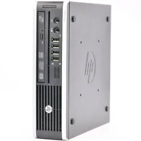 HP Elite 8300 USDT Quad Core i5 3rd Gen 500GB 4GB PC Desktop Windows 7 PRO USB 3